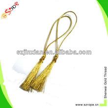 Gold tassel for wedding invation card