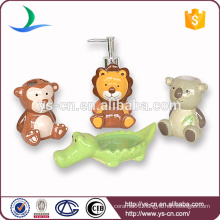 Funny Zoo Wholesale Ceramic Kids Bath Set