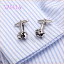 VAGULA 2016 Fashion New Design Silver Plated Gemelos Copper Cufflinks
