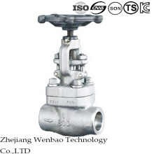 Female Screwed Forged Steel Gate Valve with Good Sealing Bonnet