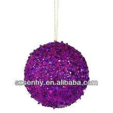 bola de Natal de resina