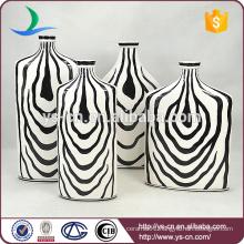 zebra-print modern porcelain chinese vase for decoration
