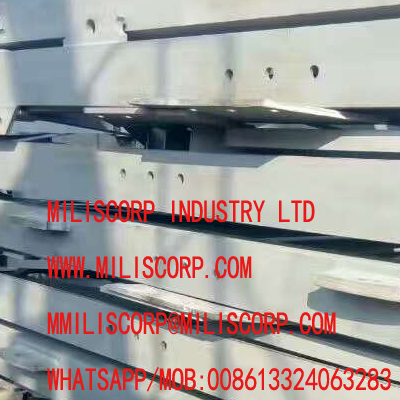 mast section sand blasting