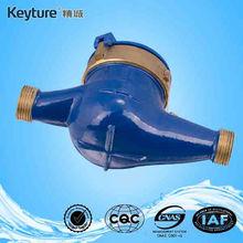 Medidor de agua de chorro múltiple con rueda de paletas rotativas