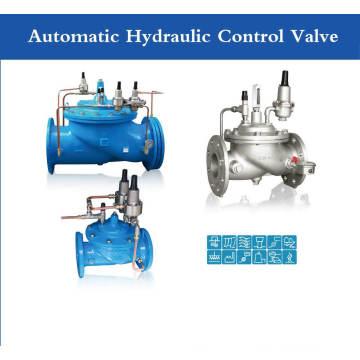 Vanne de contrôle hydraulique automatique