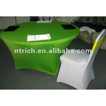 New style Lycra/spandex table/couverture en tissu