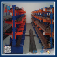 Steel Pallet Storage Rack With Arms Cantilevered Arm Shelving