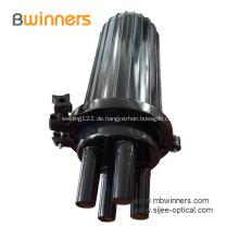 Lichtwellenleiter-Spleißverschluss mit wärmeschrumpfender Kuppel