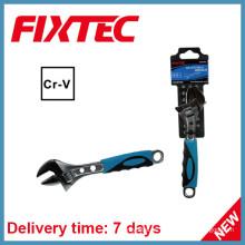 """Fixtec Hand Tools 12 """"Llave ajustable CRV con mango de plástico"""