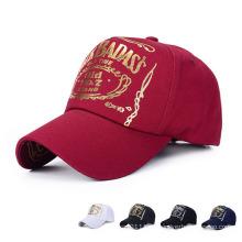 Erwachsene Mode Gold Stamping Cotton Twill Baseballmütze (YKY3012)