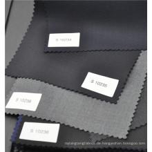 Populäres Kammgarn w70p30 grauer Twillstoff für Anzuguniform