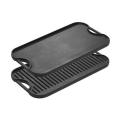 Placa de churrasqueira / assadeira de bife de ferro fundido / churrasco personalizada