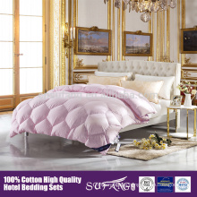 Wholesale hotel home down filling soft touch quilt
