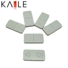 White Pure Melamine Domino Set Factory