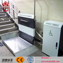 disabled person assistant inclined outdoor wheelchair lift foldanle wheelchair lift