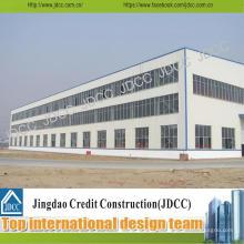 Taller de fábrica y edificio de estructura de acero de almacén