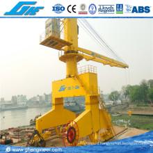Rail Mounted Mobile Hydraulic Port Crane