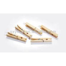Juego de clavijas de madera de 24pcs brich