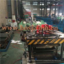 Supermarket Gondola Metal Shelf Panel Roll Forming Production Machine Supplier Thailand