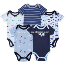 Baby-Kleidung Jumpsuits Baby-Body 100% Baumwolle Baby Strampler Muster