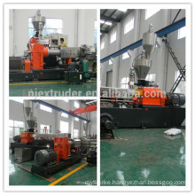 200~500kg/h two stage compounding extruder