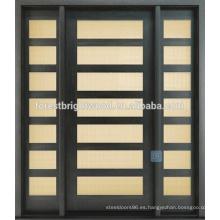 Nuevo producto Casa moderna Natural Fsc Envirionmental Inicio Puerta de madera