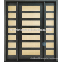 New Product Modern House Natural Fsc Envrionmental Home Wood Door