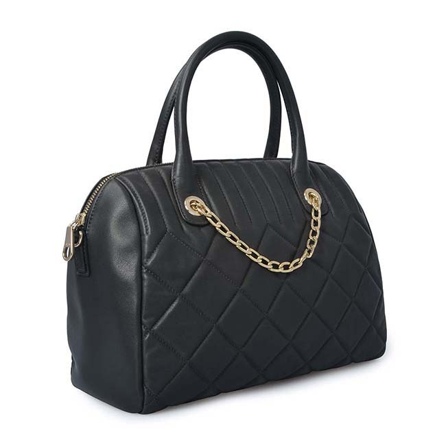Grid Leather lady hand bag tote bags handbags for women