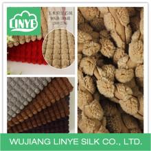 2.5 pano de algodão wale, tecido de malha de almofada