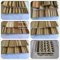 Recon-Seil, das halbrunde Seilbesatz-konstruierte hölzerne Formung bördelt