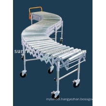 Flexible Expandable Single-Roller Conveyor
