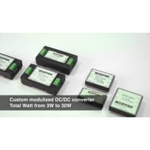 Custom Input High Efficiency DC DC Converter