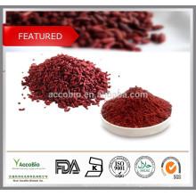 100% reiner roter Hefe-Reis-Extrakt Lovastatin 0.4% 1.5% 3.0%