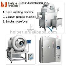 Автоматическая линия обработки на жареных утках /. Чикассы / Мясо / и т. Д.