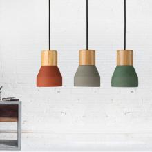 Interior decorative cement lamp hotel restaurant pendant lighting kitchen island pendant ceiling lamp