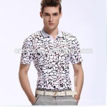 TOP TS-111 2014 latest Cotton Men's Custom Printed Polo shirt