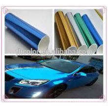Azul cromo pulverizador pintura espuma revestimento em pó