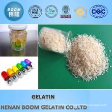 Gelatina comestible (certificado halal)