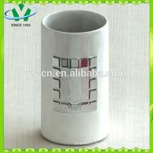 Mordern Home Decor Silber Zylinder Keramik Vase