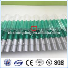 UV покрытие поликарбонат прозрачный профнастил оцинкованный
