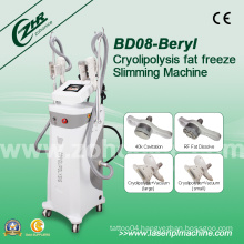 4 Handles Cryolipolysis RF Slimming Equipment for Summer Promotion