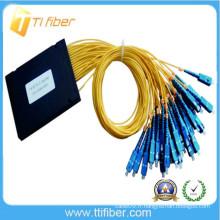 1x32 ABS PLC Splitter Box / Module, 2mm Jacketed Singlemode Fiber