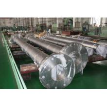 Exportador caliente del eje de la forja del acero de carbono Dia10-1500 milímetros