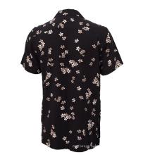 Camisa casual hawaiana con estampado digital para hombre