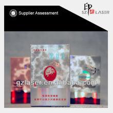 Hologram bopp plastic laminating film roll for packing