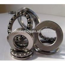 Rolamento de aço de cromo de uma fileira 51205 51206 rolamento de esferas de pressão