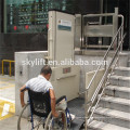 Electric wheelchair lift seat