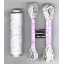 Nouvelle arrivée blanc rond mince cordon élastique pour les cheveux