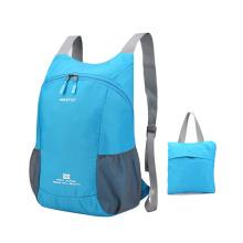 Outdoor  waterproof  shoulders bag foldable sports  bag promotional folding bag for travel hiking riding