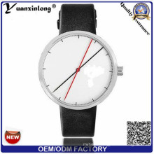 Yxl-388 Fashion Simple Design Watch Manufacture Quartz Leather Strap Casual Vogue Wrist Watch for Women
